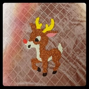 Vintage 1960s Rudolph the Reindeer Popcorn Decor
